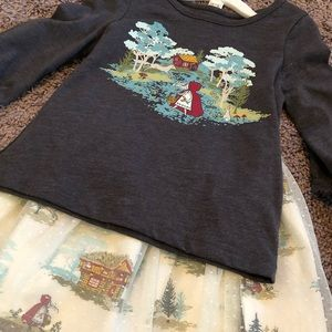 Little red riding hood setup NWT in 3T